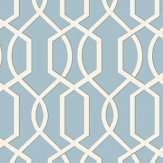 Blendworth Cheyne Blue Fabric - Product code: CHEYNE 3