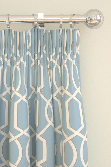 Blendworth Cheyne Blue Curtains - Product code: CHEYNE 3