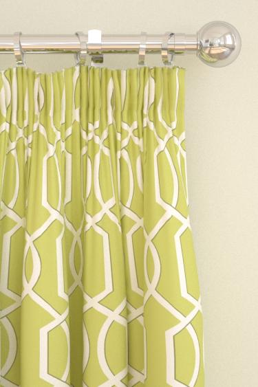 Blendworth Cheyne Lime Curtains - Product code: CHEYNE 4