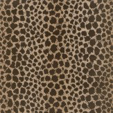 G P & J Baker Sundra Flock Bronze Wallpaper