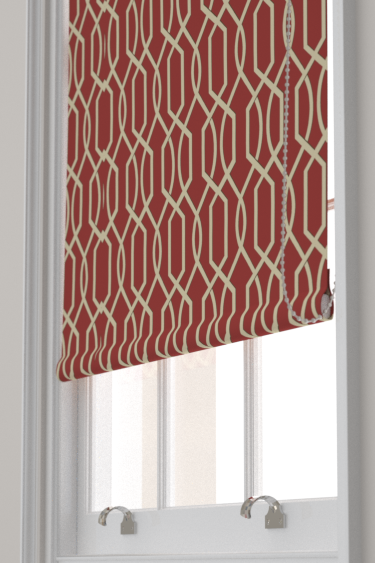 Blendworth Cheyne Red Blind - Product code: CHEYNE 5