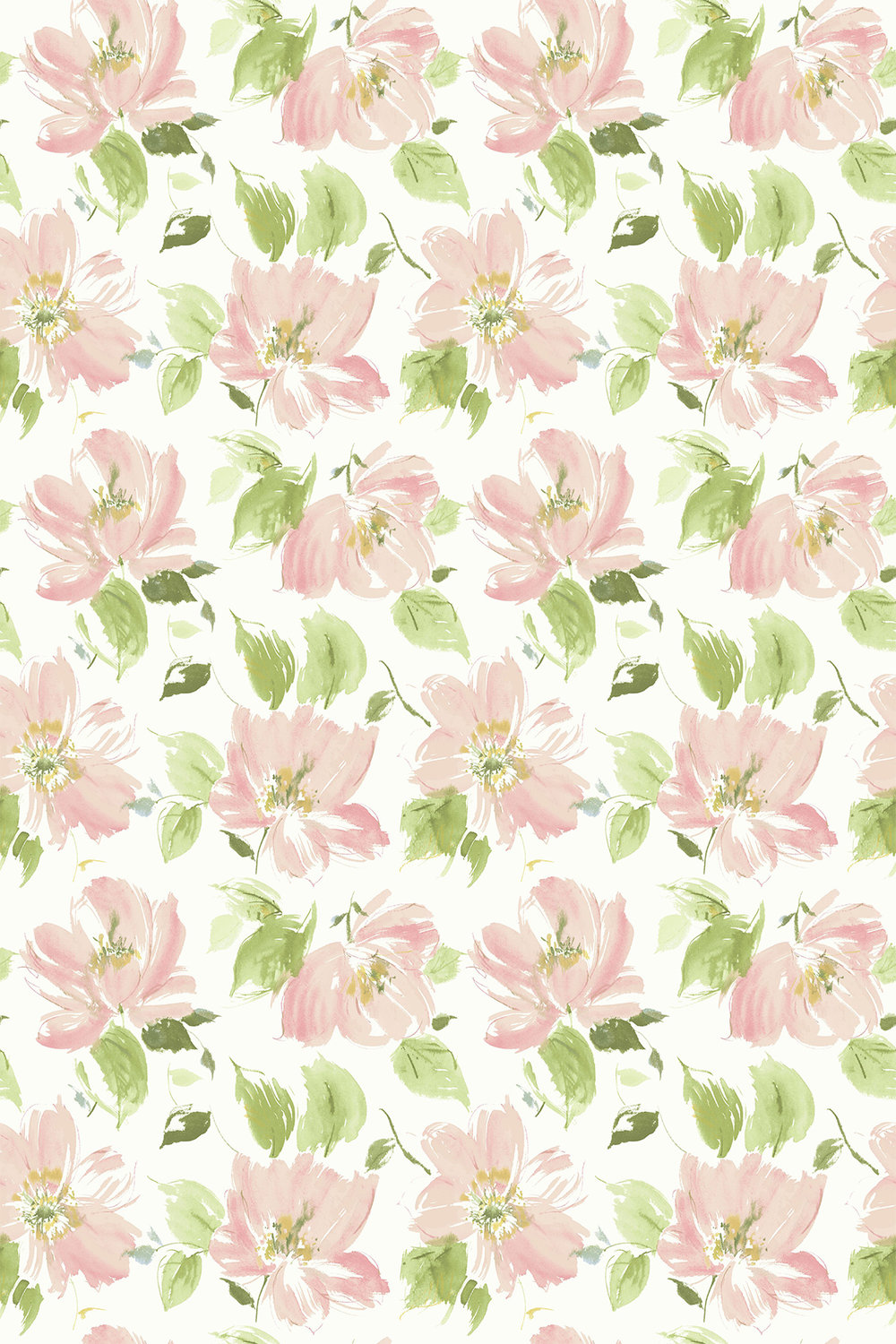 Blendworth Lillie Pink/ Ivory Fabric - Product code: LILLIE 1