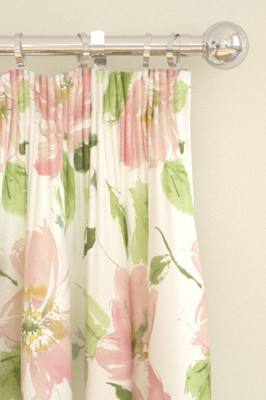 Blendworth Lillie Pink/ Ivory Curtains - Product code: LILLIE 1