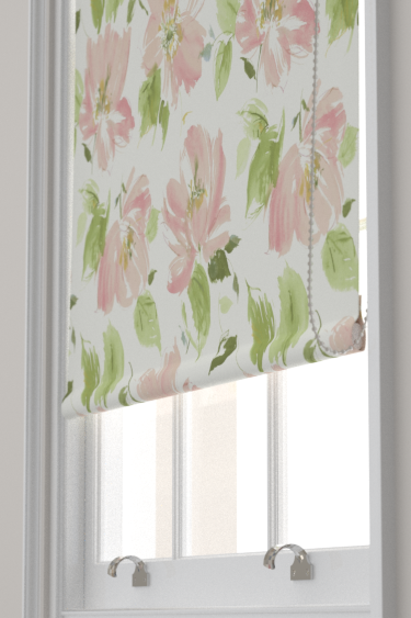 Blendworth Lillie Pink/ Ivory Blind - Product code: LILLIE 1