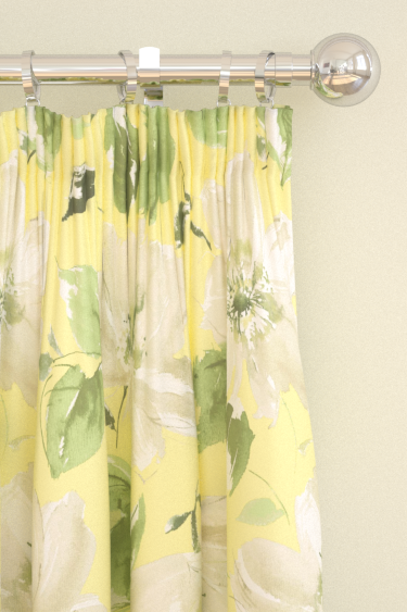 Blendworth Lillie Lime Curtains - Product code: LILLIE 2