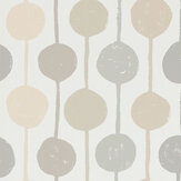 Scion Taimi Sesame, Putty and Blush Wallpaper
