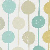 Scion Taimi Seaglass, Chalk and Honey Wallpaper