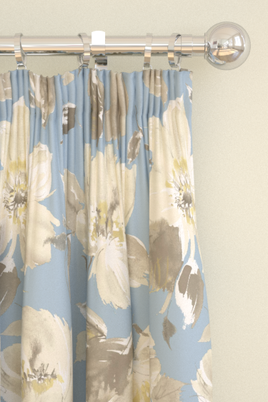 Blendworth Lillie Blue Curtains - Product code: LILLIE 4