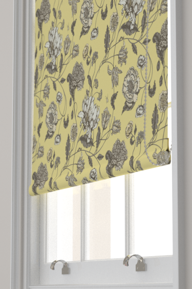 Blendworth Mayenne Charcoal/ Yellow Blind - Product code: MAYENNE 1