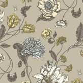 Blendworth Mayenne Taupe Fabric - Product code: MAYENNE 2