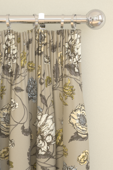 Blendworth Mayenne Taupe Curtains - Product code: MAYENNE 2