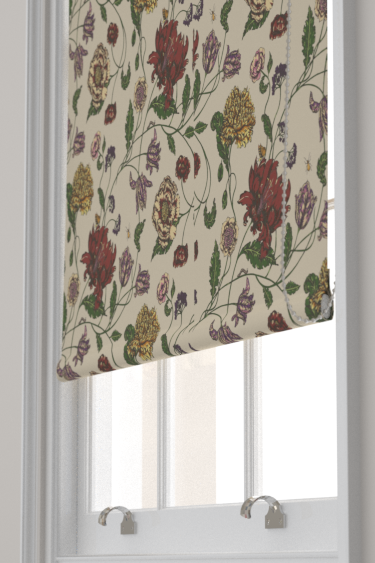 Blendworth Mayenne Red/ Cream Blind - Product code: MAYENNE 5