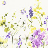 Blendworth Meadow Flowers Purple Fabric - Product code: MEADOW FLOWERS 3