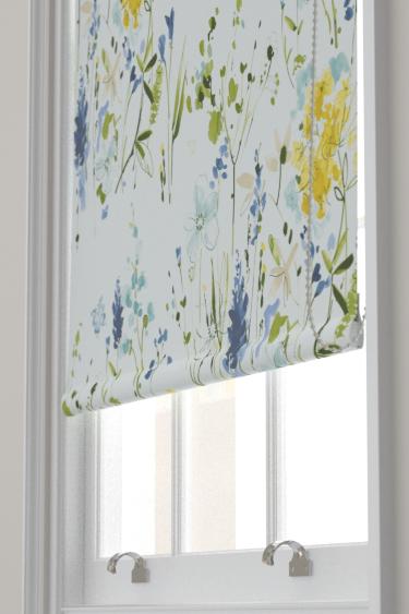 Blendworth Meadow Flowers Blue Blind - Product code: MEADOW FLOWERS 4