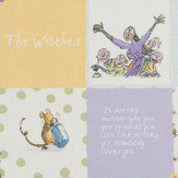 Roald Dahl Witches Patchwork Fabric