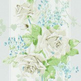 Sanderson Cecile Rose Ivory / Dove Wallpaper