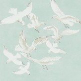 Sanderson Seagulls Eau de Nil Wallpaper