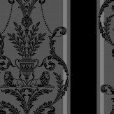 Arthouse Leonardo Carbon Black Wallpaper