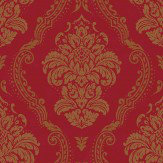 Arthouse Lucetta Red Wallpaper