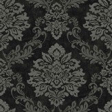 Arthouse Palazzo Black / Silver Wallpaper