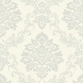 Arthouse Palazzo White Platinum Wallpaper