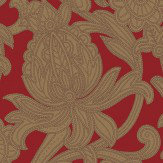 Arthouse Viola Red Wallpaper