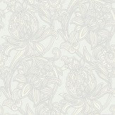 Arthouse Viola Silver Dove Wallpaper