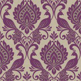 Arthouse Borromeo Damson Wallpaper