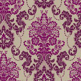 Arthouse Vasari Aubergine Wallpaper