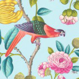 Manuel Canovas Serendip Turquoise Wallpaper - Product code: 3075/01