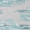 Osborne & Little Marmara Aqua & Pale Grey Wallpaper - Product code: W6756/01