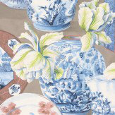 Manuel Canovas Anvers Bleu Wallpaper