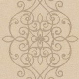 Albany Ornate Lace Motif Bronze Wallpaper