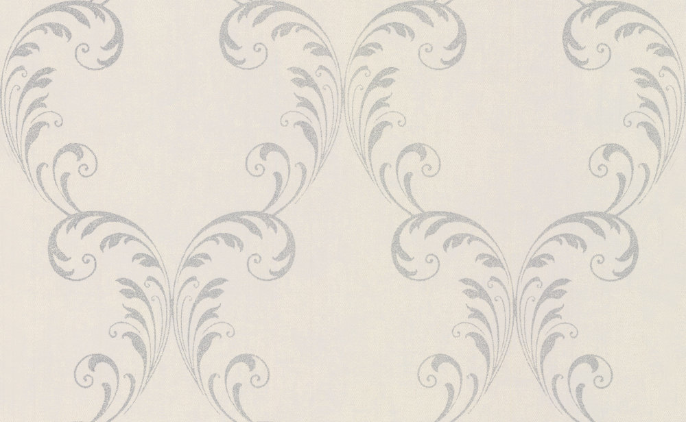 Albany Feather Trail Silver Wallpaper - Product code: 20736