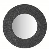 Arthouse Slate Round Mirror Grey