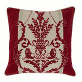 Arthouse Leonardo Regal Red cushion