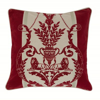 Image of Arthouse Cushions Leonardo Regal Red cushion, 008281