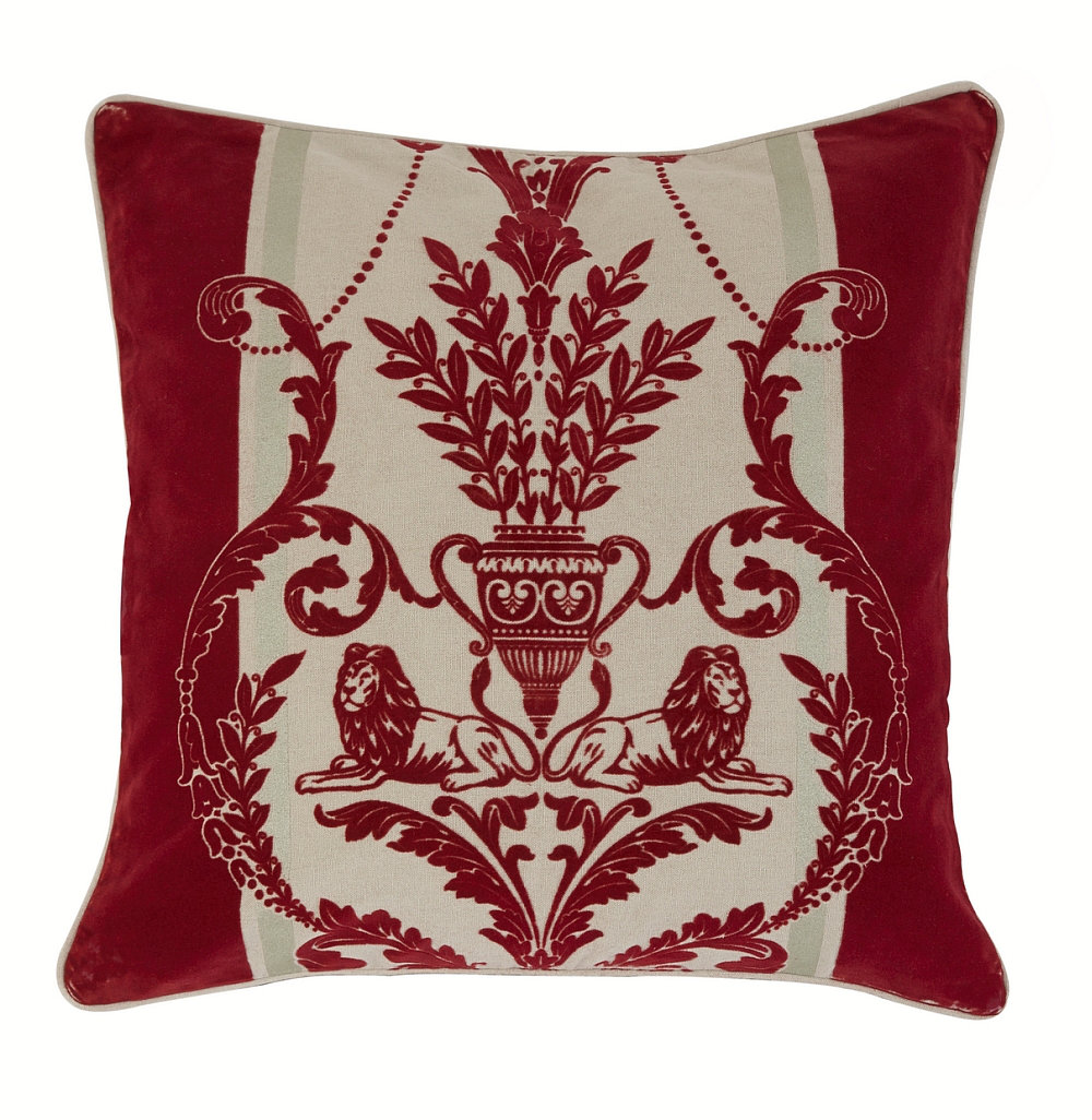 Arthouse Leonardo Regal Red cushion - Product code: 008281