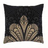 Arthouse Alberti Aztec Cushion Black and Gold