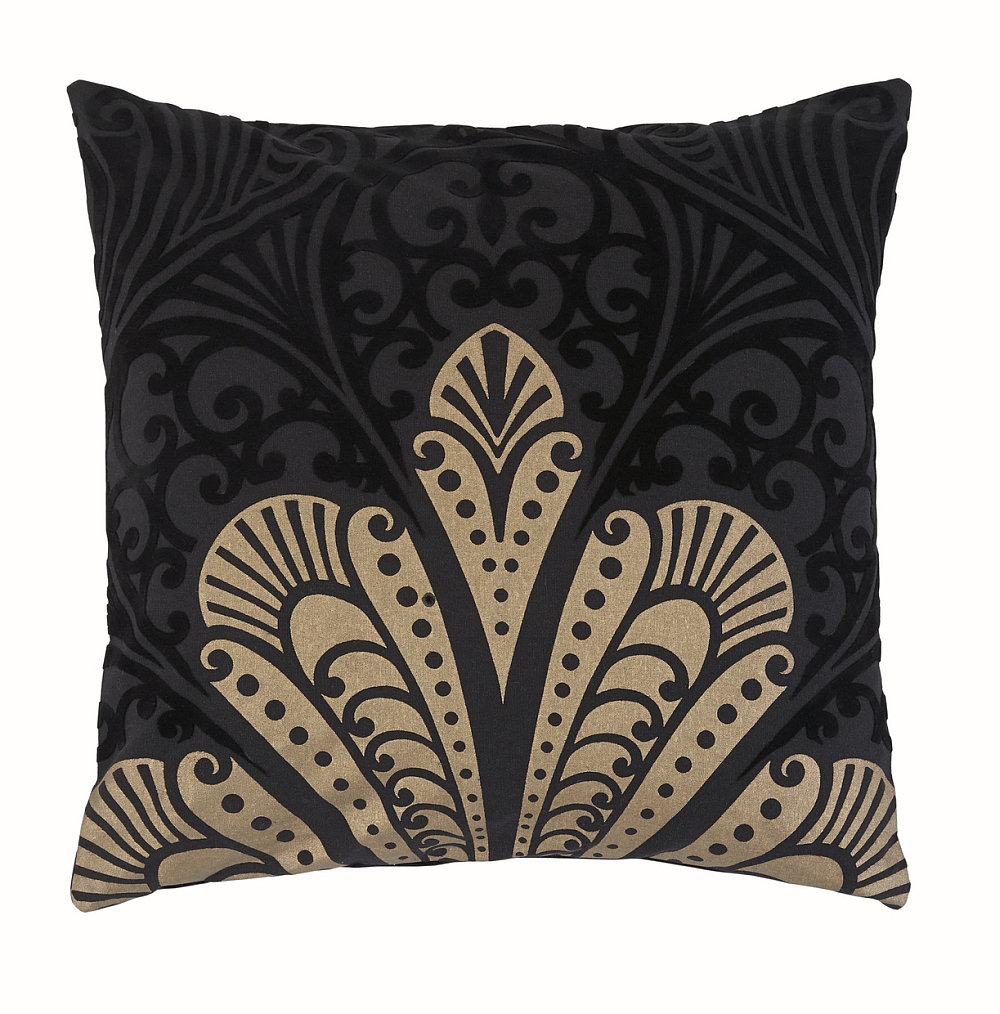 Arthouse Alberti Aztec Cushion Black and Gold - Product code: 008280