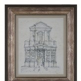 Arthouse Gateway and Basilica Floating Frame Set Art