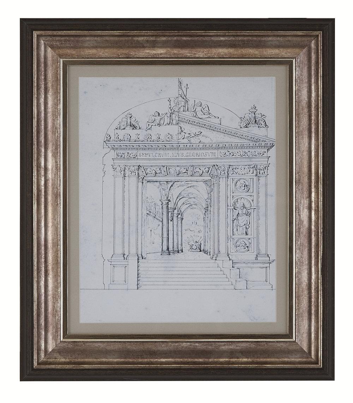 Arthouse Gateway and Basilica Floating Frame Set Art - Product code: 003944