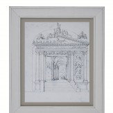 Arthouse Gateway Framed Print Art