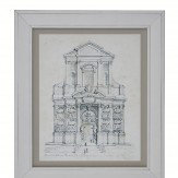 Arthouse Basilica Framed Print Art