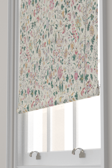 Sanderson Sita Teal / Loganberry Blind - Product code: 224312