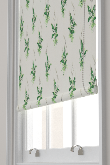 Sanderson Muguet Emerald / Ivory Blind - Product code: 224315