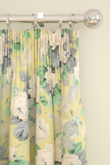 Sanderson Chelsea Linden / Silver Curtains - Product code: 224320