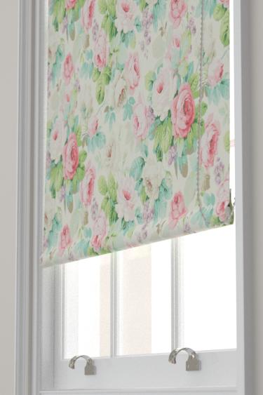 Sanderson Chelsea Pink / Celadon Blind - Product code: 224321