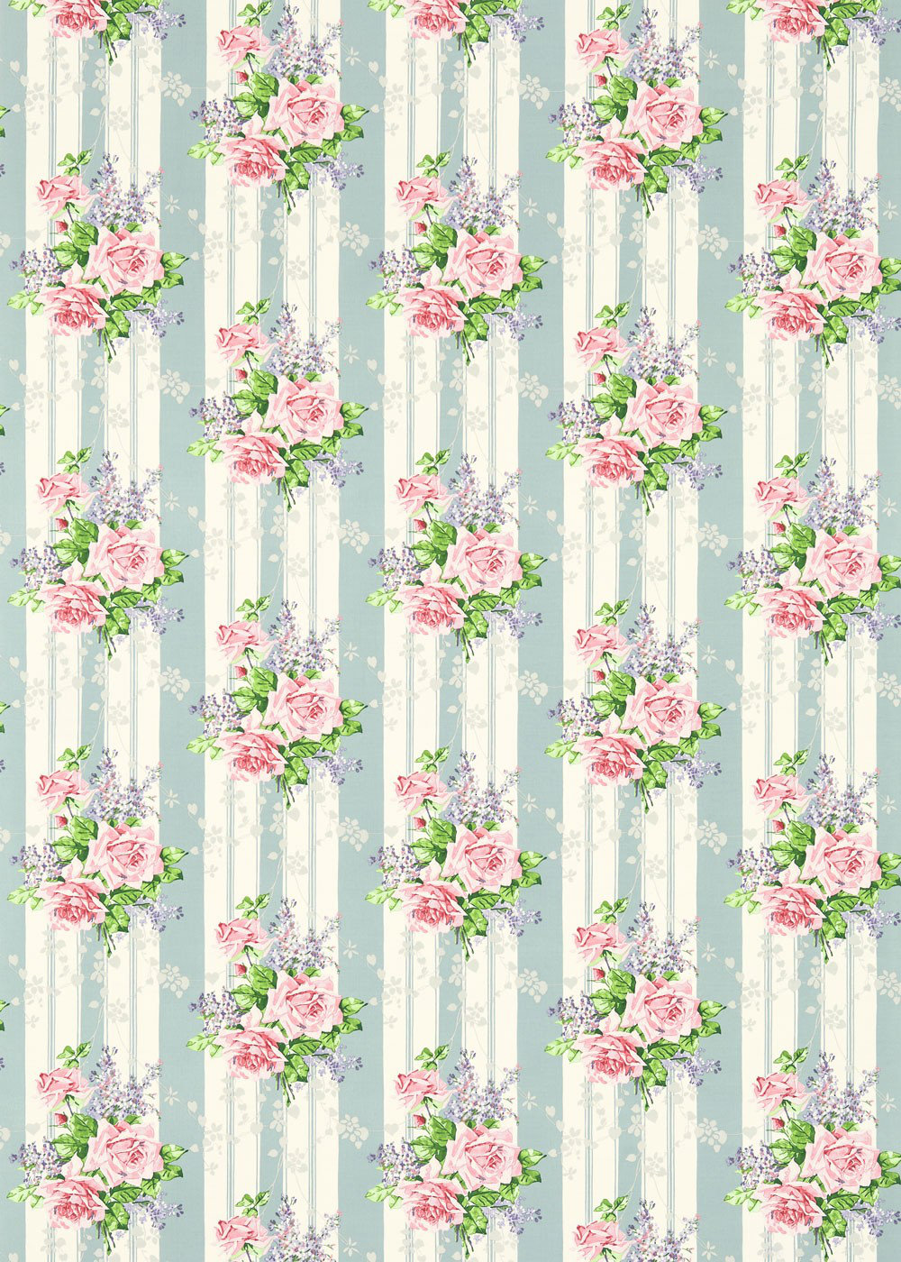 Sanderson Fabric Cecile Rose 224326