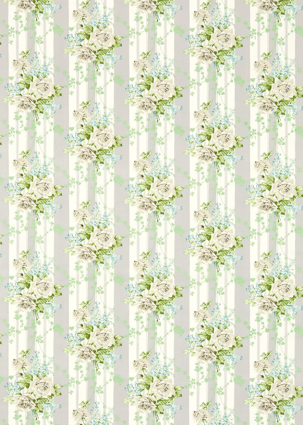 Sanderson Fabric Cecile Rose 224327